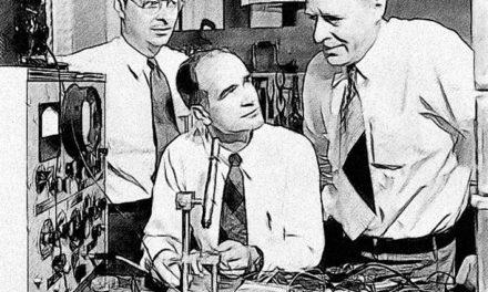 Image illustrant l'article les trois inventeurs du transistor de Clio Carto