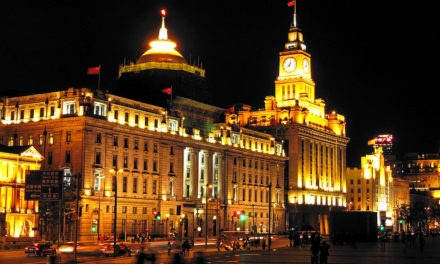 "Le Bund (Shanghai) ""The Bund in gold, Shanghai"" by Dimitry B is licensed under CC BY 2.0"