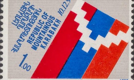 Image illustrant l'article Flag_of_Artsakh_1993_stamp de Clio Carto