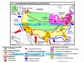 Carte Amerique Puissance Du Nord Affirmation Du Sud.L Amerique Puissance Du Nord Affirmation Du Sud Clio Carto