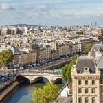 Carte de synthèse : Paris une ville-monde à l'espace fragmenté